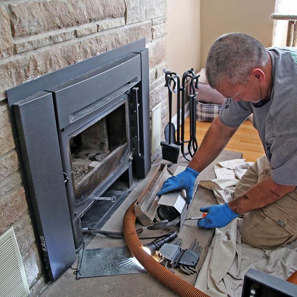 wood burning fireplace insert repair in Harpers Ferry WV