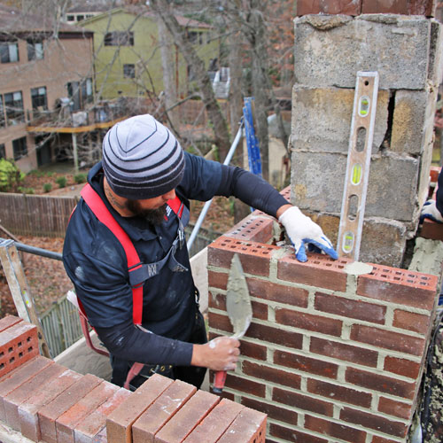 Chimney Masonry Repair in Hagerstown, MD