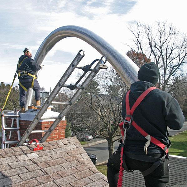Chimney flue liner repair & chimney repair in Mount Airy MD