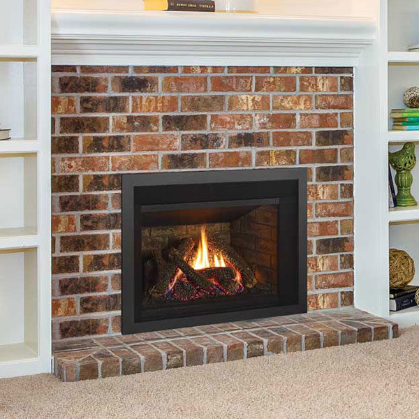 Gas fireplace insert install in Thurmont MD