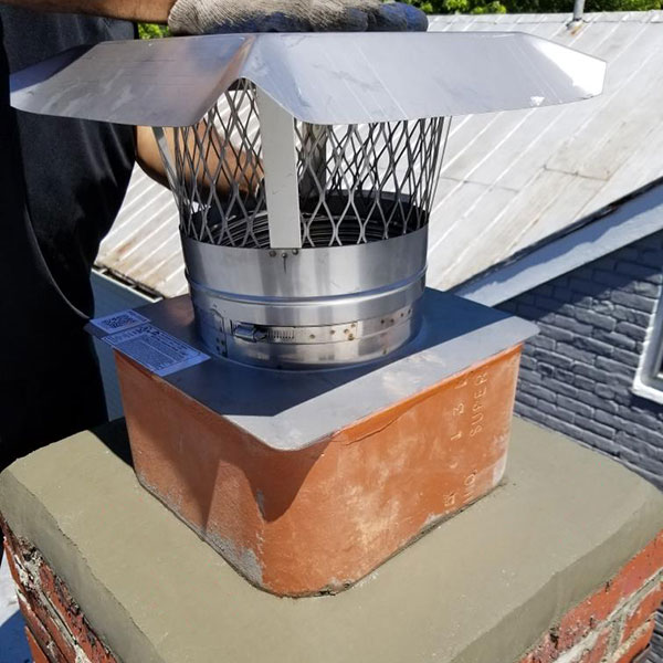chimney cap install in Harpers Ferry MD