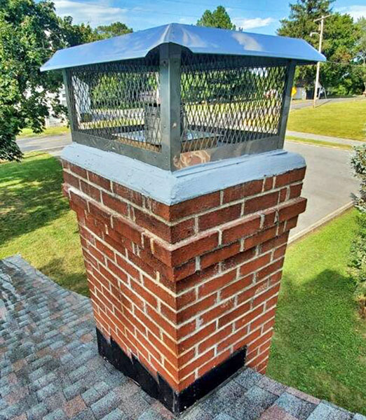 chimney cap repair & installation in Mount Airy MD