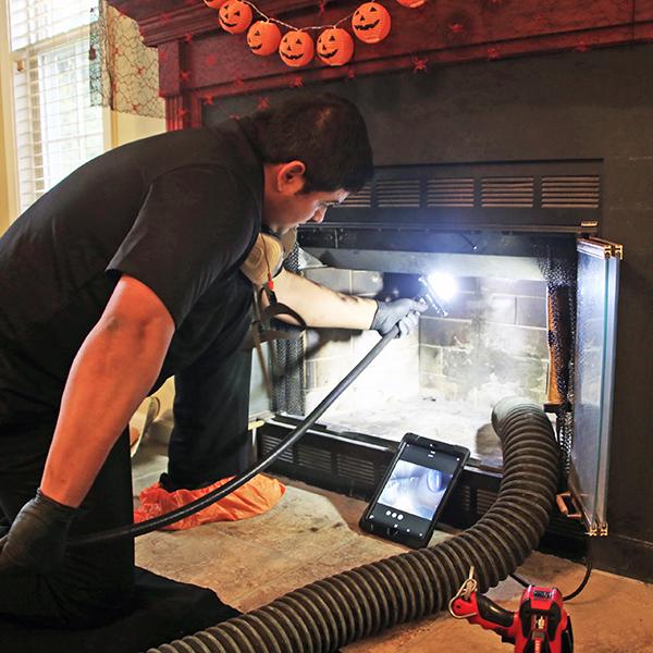 chimney inspection in Emmitsburg MD