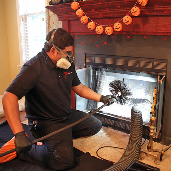 fireplace cleaning & chimney cleaning in Harpers Ferry WV
