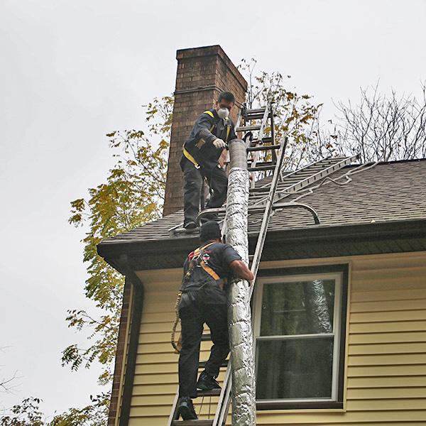 chimney liner repair in Martinsburg WV
