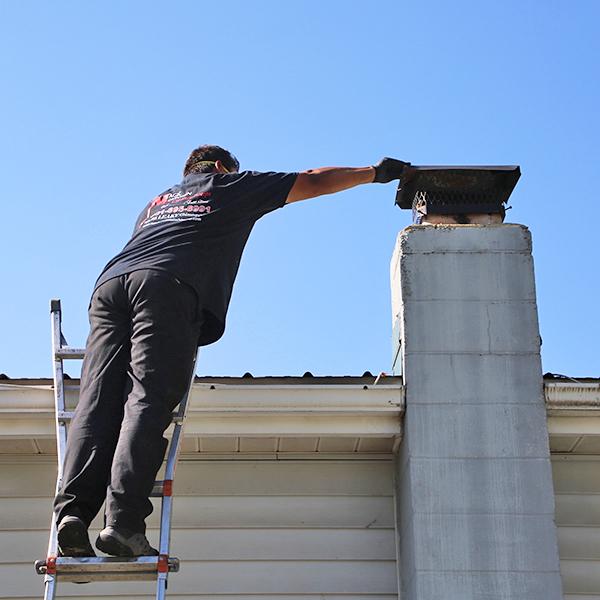 chimney cap repair in Thurmont MD
