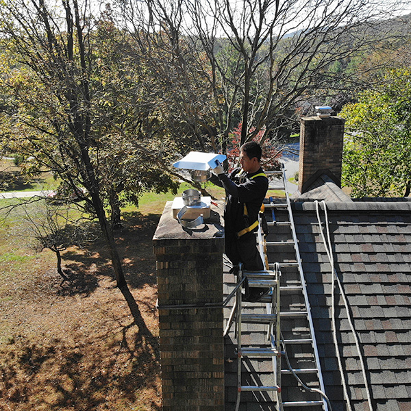 leaky chimney repair in Winchester VA