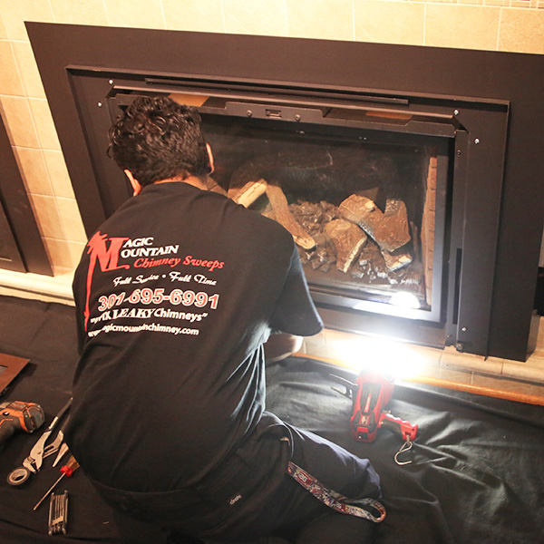 Fireplace Install in Westminster md