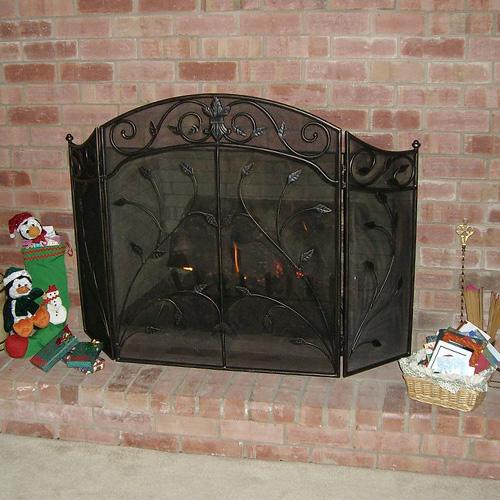 fireplace screen installations