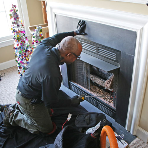 gas fireplace service in Westminster MD